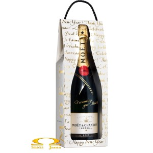 Szampan Moet & Chandon Imperial Caligraphy Kit 0,75l