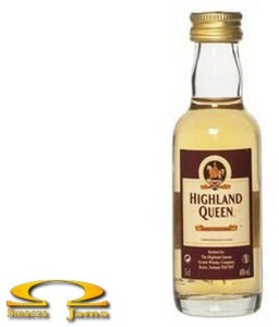 Miniaturka Whisky Highland Queen 0,05l