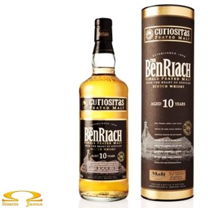 Whisky BenRiach Curiositas Peat Style 0,7l