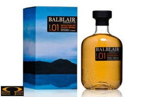 Whisky Balblair 2003 Whisky Highland Single Malt Scotch 0,7l