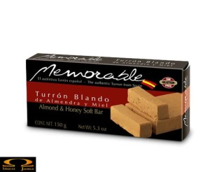 Turron Blando Memorable 150g