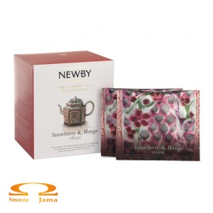 Herbata Newby Finest Tea Collection Strawberry & Mango 37,5g