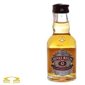 Whisky Chivas Regal 12 YO Miniaturka 0,05l