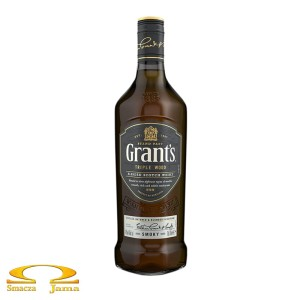 Whisky Grant's Triple Wood Smoky 0,7l