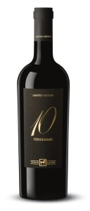 Wino 10 Vendemmie Rosso Limited Edition Włochy 14,5% 0,75l