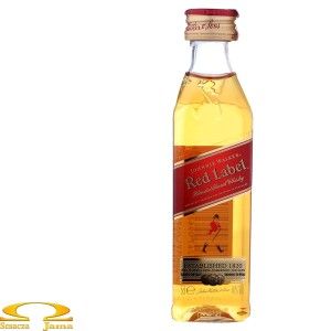 Johnnie Walker Red Label miniaturka 0,05l