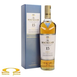 Whisky The Macallan 15 YO 0,7l
