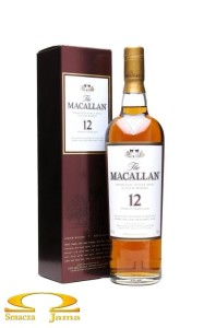 Whisky The Macallan 12 YO Sherry Oak 0,7l