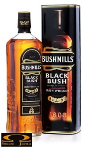 Whiskey Bushmills Black Bush 0,7l w tubie