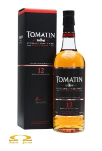 Whisky Tomatin 12yo Sherry Finish 0,7l