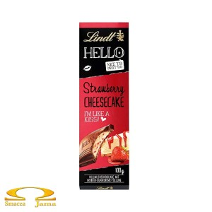 Czekolada Lindt Hello Strawberry Cheesecake 100g