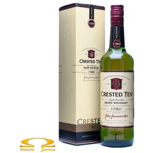 Whiskey Jameson Crested Ten 10 YO Premium 0,7l