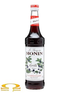 Syrop JAGODA Blueberry Monin 1L PET