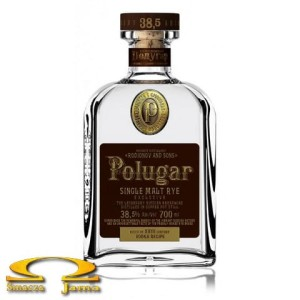 Wódka Polugar Single Malt Rye 38,5% 0,7l
