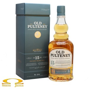 Whisky Old Pulteney 15 YO 0,7l