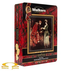 Ciastka Walkers Shortbread Heritage Collection 300g