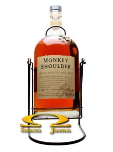Whisky Monkey Shoulder 'Gorilla' z huśtawką 4,5l