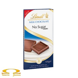 Czekolada Lindt No Sugar Milk 100g