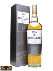 Whisky The Macallan 10 YO 0,7l