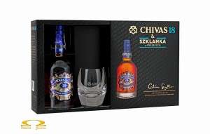 Whisky Chivas Regal 18YO 0,7l + szklanka