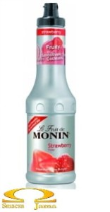 Puree Monin Strawberry - Truskawka 0.5l