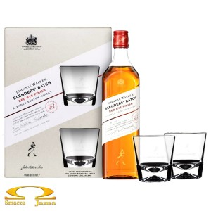 Whisky Johnnie Walker Blenders' Batch Red Rye Finish 0,7l + 2 szklanki