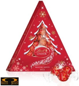 Lindt Lindor Milk Xmas Tree Choinka 175g