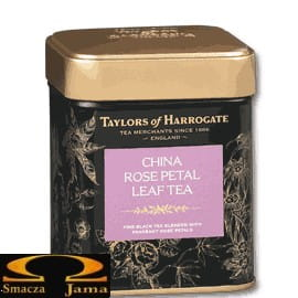 Herbata Liściasta Taylors of Harrogate China Rose Petal 125g