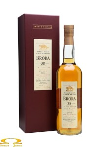 Whisky Brora 38 YO 1977 0,7l - Special Release 2016