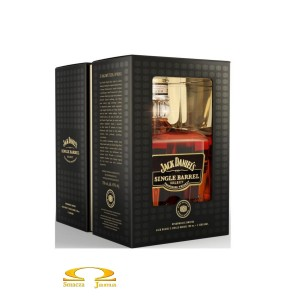 Whiskey Jack Daniel's Single Barrel 0,7l ze szklankami