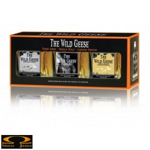 Zestaw miniaturek Wild Geese Collection 3 x 5cl