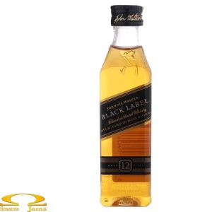 Johnnie Walker Black Label Miniaturka 0,05l