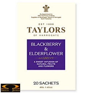 Herbata Taylors of Harrogate herbata Blackberry & Elderflower, 20 saszetek