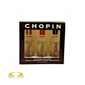Wódka Chopin Zestaw Miniaturek 3x50ml