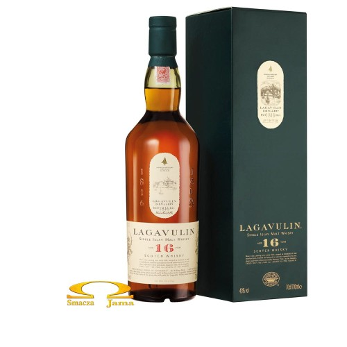 Whisky Lagavulin 16 year old logo.jpg