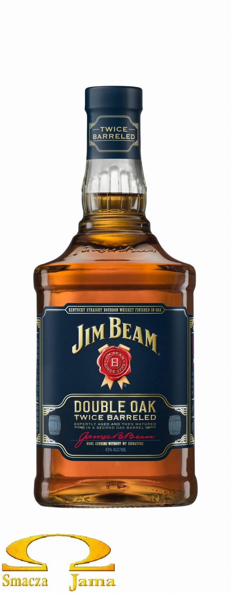 Burbon Jim Beam Double Oak Twice Barreled 0 7l Smaczajama Pl