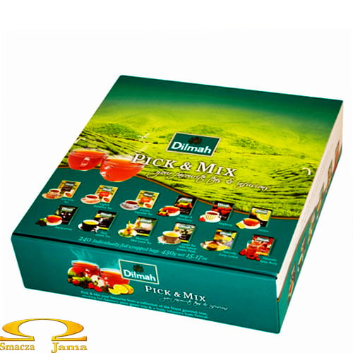 Herbata Dilmah Zestaw Pick & Mix 120 torebek