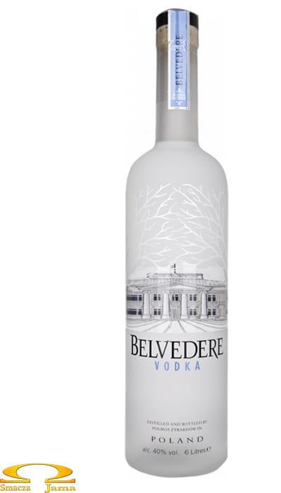 Wódka Belvedere Illuminator 6l podświetlana butelka